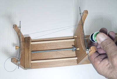 warping The Ricks Beading Loom
