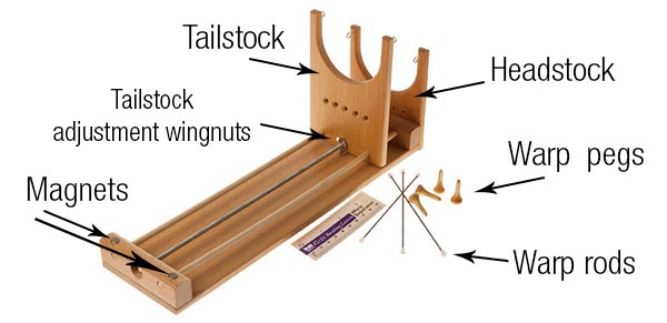Ricks Beading Loom  diagram