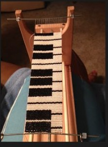 Piano on loom 1