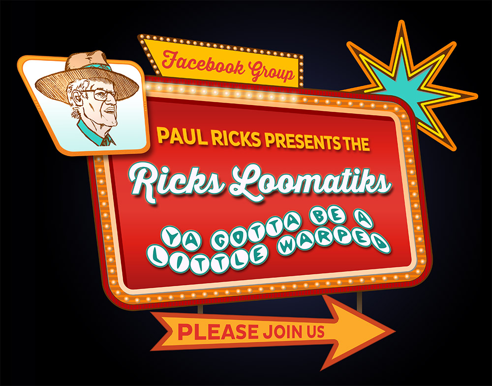 Ricks Loomatiks Retro Vegas Sign Blog