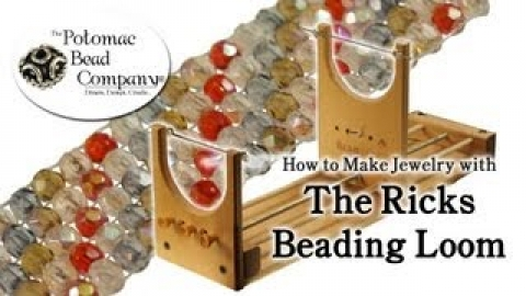 How to Make Jewelry with The Ricks Beading Loom (Potomac Beading Company)